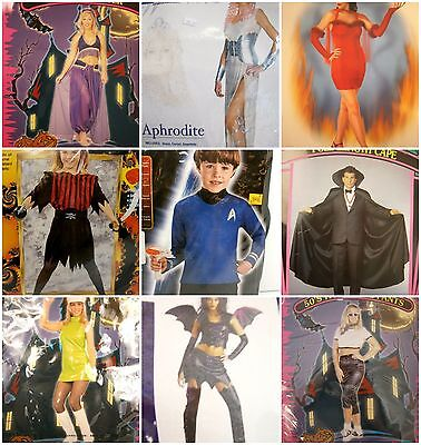 Wholesale Lot of 2 Pallets of Halloween Costumes Assorted Sizes!