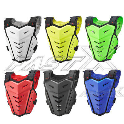 Motorcycle Street Body Armor Motocross Sport Vest Chest Back Protector S-XXXL