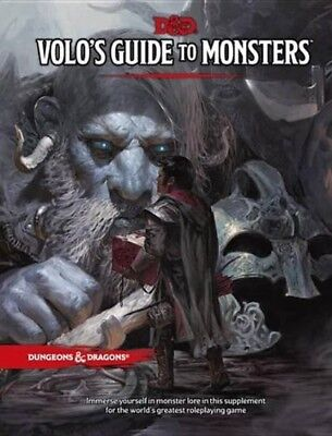 Volo's Guide to Monsters Hardcover Dungeons and Dragons DnD Fast Free Shipping