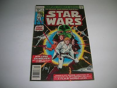 Marvel Comic  -  Star Wars #1 - Key Issue -  July 1977
