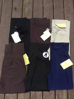 6 Pair Women's Dress Pants QVC NWT Sizes range from M to 14 (P)