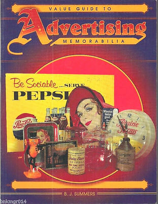 19944 Value Guide To Advertising Memorabilia FREE SHIPPING