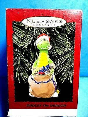"Hallmark ""Dudley The Dragon"" Ornament Dated 1995"