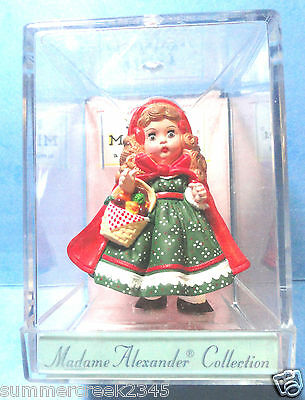 "Hallmark ""Little Red Riding Hood"" Madame Alexander Doll Merry Miniatures 1991"