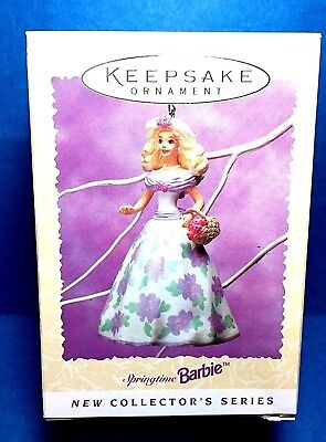 "Hallmark ""Springtime Barbie"" Ornament 1995"