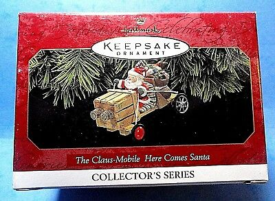 "Hallmark ""The Claus-Mobile Here Comes Santa"" Ornament 1997"