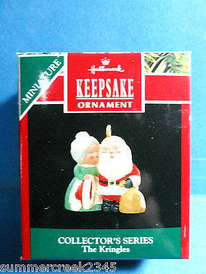 "Hallmark ""The Kringles"" Miniature Ornament 1990"