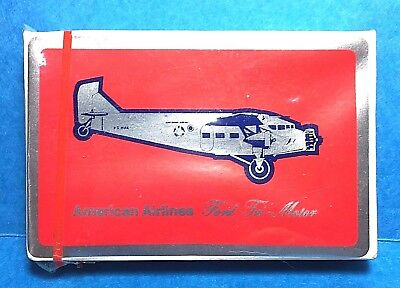 Sealed Deck of American Airlines Prop Plane Playing Cards