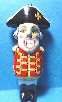 Russian Soldier Ceramic Christmas Ornament Made in Russia   Free Shipping