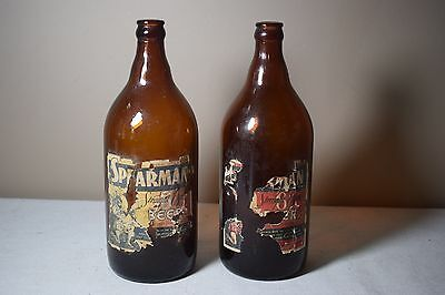 Vintage Spearman Beer Pensacola Fl Amber Beer Bottles Produced By Owens Illinois