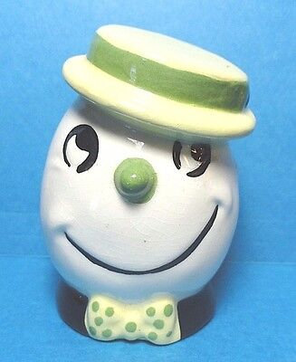 "Vintage ""Egg Head Man"" Cleminsons Kitchen Sand Egg Timer"