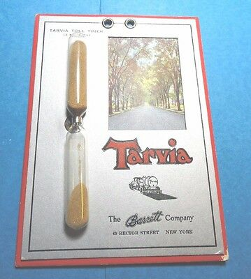 Vintage Advertising Tarvia Kitchen Sand Egg Timer