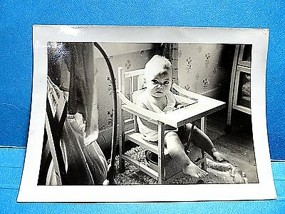 Vintage Baby Sitting On A Potty Chair Photograph 199 Meridan Mississippi