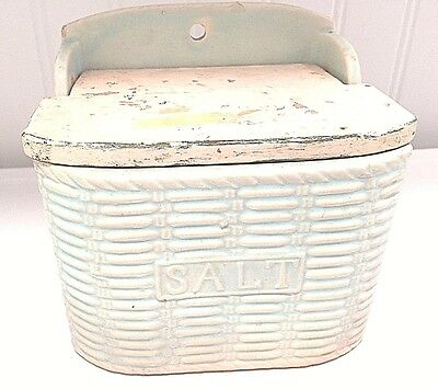 Vintage Ceramic Salt Box Japan