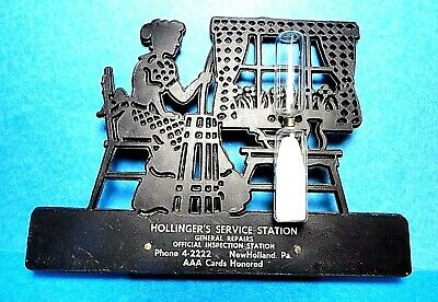 Vintage Hollinger's Service Station New Holland, PA. Kitchen Sand Egg Timer