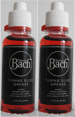 X2 BOTTLES VINCENT BACH TUNING SLIDE GREASE NEW & SEALED 47ml CHEAPEST ON EBAY