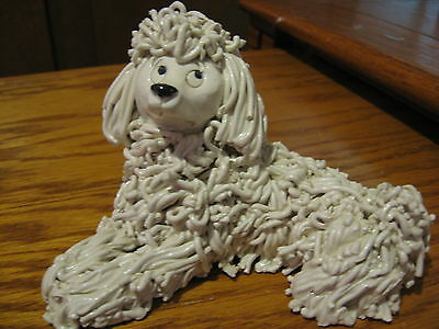 Kathy Wise Original Spaghetti Poodle With Sticker Very Cute SALE Was $45.