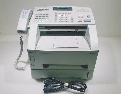 USED Brother IntelliFax 4100e Super G3 Laser Fax/Copier 8MB 15 CPM 600x600 DPI