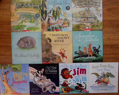 Australian Picture Book Pack Bulk Collection - 10 Large Books - New