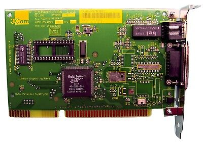 3COM ETHERLINK III ISA 10BASE-T NETWORK INTERFACE CARD 3C509B-TP DRIVER FOR WINDOWS