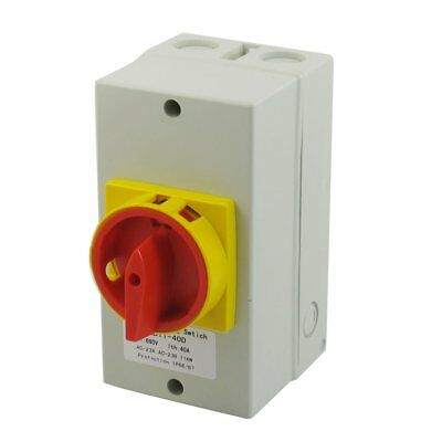Latching AC 690V 25A 11KW 2 Position Cam Combination Changeover Switch w Mount S