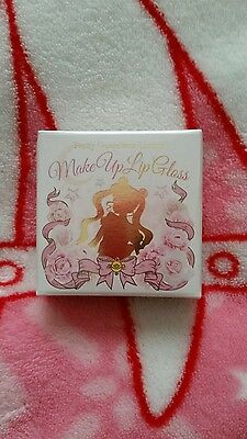 Sailor Moon Fan club lip gloss compact brooch