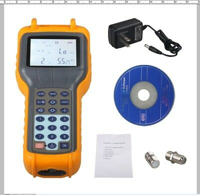 RY-S110 CATV Cable TV Handle Digital Signal Level Meter DB Tester 47MHz-870MHz