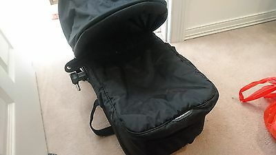 Baby Jogger Compact Bassinet - black hardly used