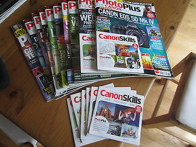 10x PhotoPlus The Canon Magazine Issues March 2015 - Nov 2016