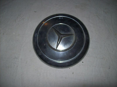 "Mercedes 235mm Ø original Oldtimer Radkappe 13"" Chrom"