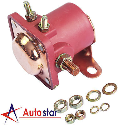 New 12V Red Solenoid Relay Heavy Duty For Ford Starter Car Truck SW3 SNL135