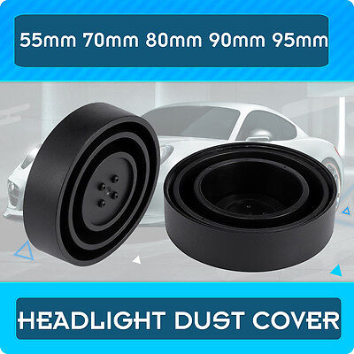 2pcs 55MM 70MM 80MM 90MM 95MM Universal LED Headlights Dust Cover Rubber Housing