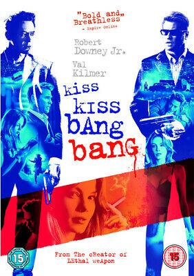 Kiss Kiss, Bang Bang DVD (2006) Robert Downey Jr, Black (DIR) cert 15