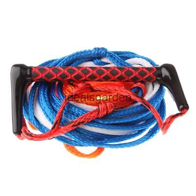 23m Water Ski Tow Rope Knee Board Wakeboarding Lines Boating Accessories