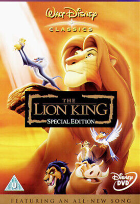 The Lion King (Special Edition) DVD (2003) Roger Allers cert U Amazing Value