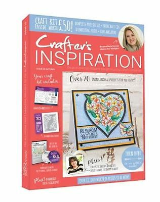 Crafters Companion CRAFTERS INSPIRATION - Issue 15 Autumn Edition - £50 FREE KIT