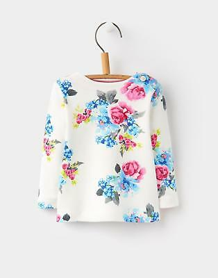 Joules 124446 Baby Girls Marina Top in Cream Floral