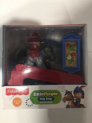 NEW Fisher-Price Little People Mike The Knight Klip Klop Evie & Horse