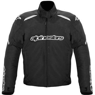 Alpinestars Gunner Waterproof Motorcycle Motor Bike Jacket - Black