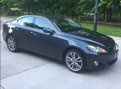 2008 Lexus IS Base Sedan 4-Door Lexus IS 350 RWD LOW MILES EXCELLENT CONDITION