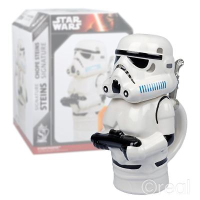 New Star Wars 22oz Stormtrooper Signature Stein Collectible Mug Coffee Official