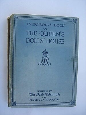 The Book of the Queen's Doll House   Original Buch Puppenhaus der Königin v 1924