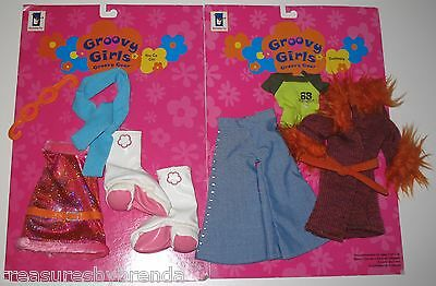 Groovy Girls Doll Outfits Clothing Lot Set 2 - Dusterella & You Go Girl