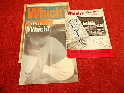 3 Issues Of Which Magazine 1961,1968,1978