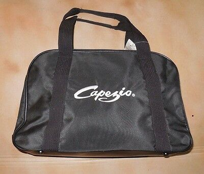 New Capezio MKT20 Black Bowling Dance Bag Zipper Closure Ballet Jazz
