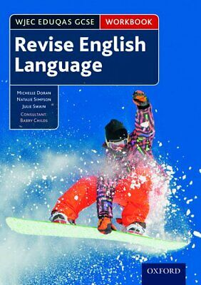 WJEC Eduqas GCSE English Language: Revision workbook by Childs, Barry Book The