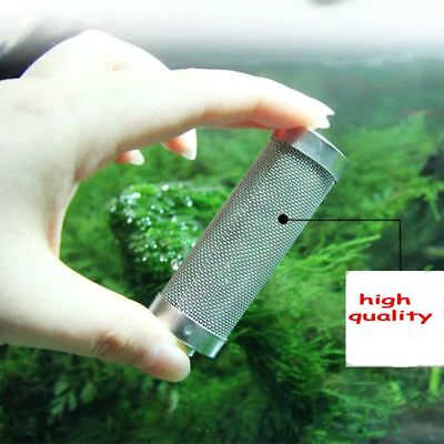 12/16mm Guard Aquarium Shrimp Fish Inlet Protect Mesh Filter Stainless Steel