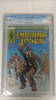 Indiana Jones #1 - 9.4 Graded - White Pages - CGC