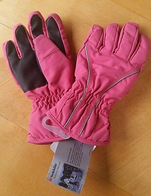 NWT Hanna Andersson GIRLS PINK GLOVES Insulated M MEDIUM  6 7 8 110 120 130