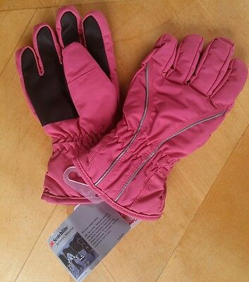 NWT Hanna Andersson GIRLS PINK WARM HANDS GLOVES L LARGE 8-12 YRS 130 140 150